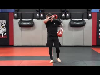 Kickboxing Classes for Adults - E7 - Advanced - Sensei Jimmie Rivera _ Tiger Sch
