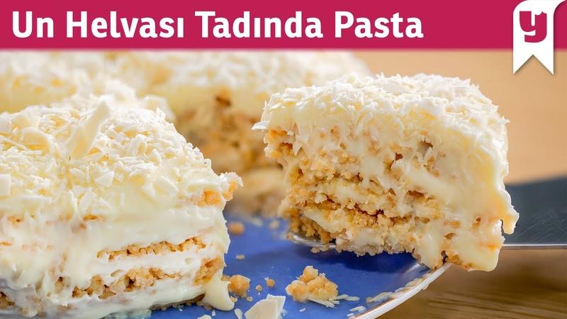 Bildiğiniz Tüm Pastaları Unutturur Un Helvası Tadında Pasta Tarifi Fırın Kullanmak Yok ✅