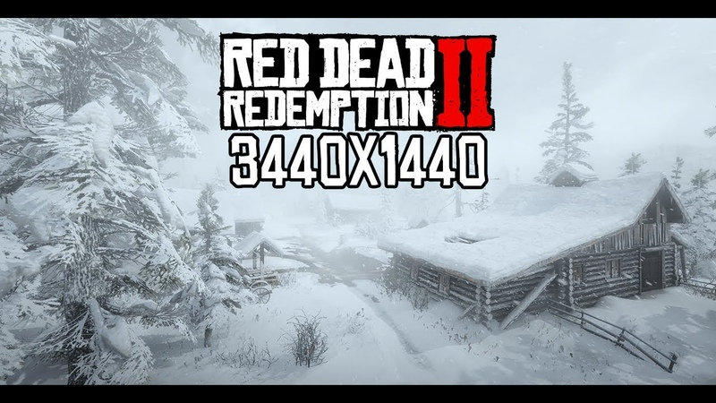 Red Dead Redemption 2 PC Benchmark - Ultra Settings - 3440x1440 - RTX 2080Ti