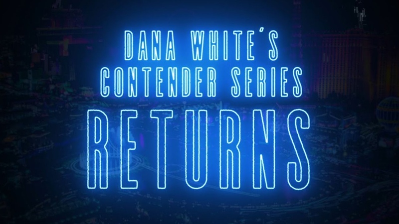 Dana White's Contender Series Season 4 Trailer Live Every Tuesday