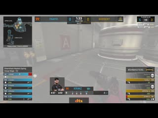 KRIMZ - 3 USP-S HS kills on the bombsite A defense (initial frags - pistol round)