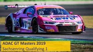 ADAC GT Masters Qualifying 1 Sachsenring 2019 Live Deutsch