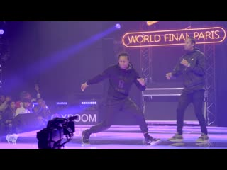 LES TWINS ft SALIF Performance at Red Bull Dance Your Style World Finals ¦ Paris, France YAK FILMS