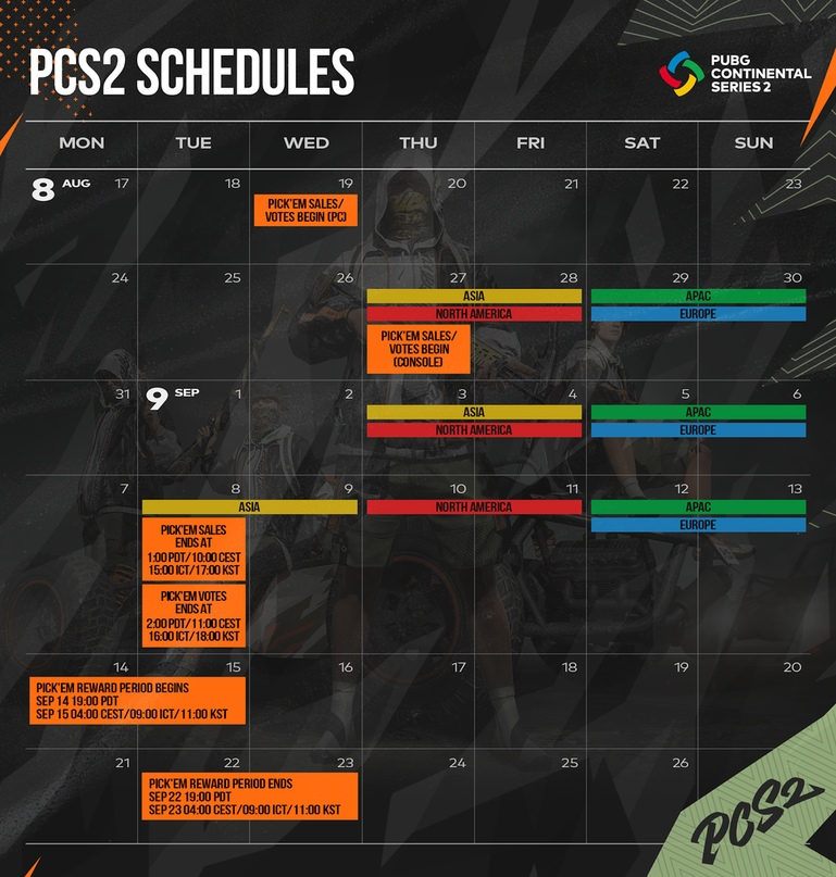 Предскажите чемпионов PCS2! Начинается испытание «Выбирай!» для PCS2, изображение №2