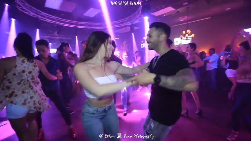JAY GONZALEZ WANDAISHA LOPEZ Bachata Social Dance At THE SALSA ROOM