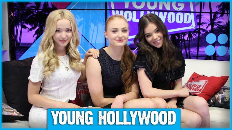 BARELY LETHALs Hailee Steinfeld, Sophie Turner, Dove Cameron on Playing Assassins!
