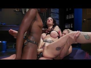 Dee Williams, Ana Foxxx and Arabelle Raphael - Porno, Lesbian, BDSM, Porn, Порно
