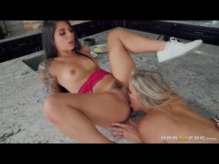 I Want Her To Like Me: Gina Valentina & Julia Ann by Brazzers  Full HD 1080p #Lesbian #Dildo #Strap-on #Porno #Sex