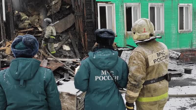 В сгоревшем на окраине Архангельска доме находилась религиозная община
