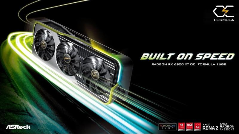 Built On Speed ASRock Radeon RX 6900 XT OC Formula 16GB