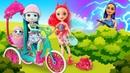 Видео с куклами Энчантималс и Сказочный Патруль – Пикник для подружек! - Новые игры для девочек