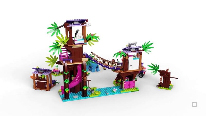 LEGO Friends 41424 Jungle Rescue Base Tierrettungssation im Dschungel