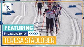 Teresa Stadlober   FIS Cross-Country