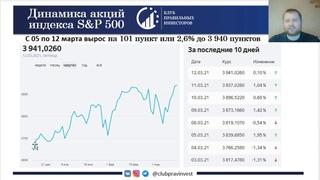 09 – 12 .Ключевые цифры на фондовом рынке за неделю.