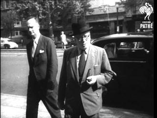 Big Three Meet On Germany (1951)