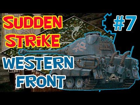 Стратегия про войну Sudden Strike 2 (mod RWG ToW) | Западный фронт | Миссия 6