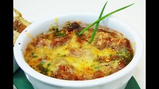 Французский луковый суп Похмельный эликсир Самый наваристый рецепт в Ютуб. Слабонервным не смотреть