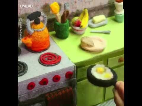 Cooking With Wool Animation   Unilad LADbible