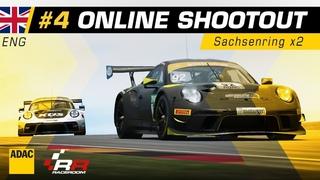 ADAC GT Masters Esports 2020 | Shootout 4 | English Stream