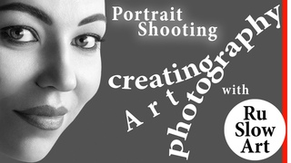SingleShot#3 | Commercial Photography | Complete Process of Creating a Portrait | Close-up Headshot
