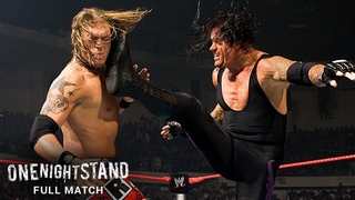 FULL MATCH - The Undertaker vs. Edge – World Heavyweight Title TLC Match: One Night Stand 2008