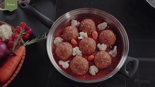 Вкусные идеи для самых любимых - готовим праздничные блюда с новыми iCook™ Сковородами!