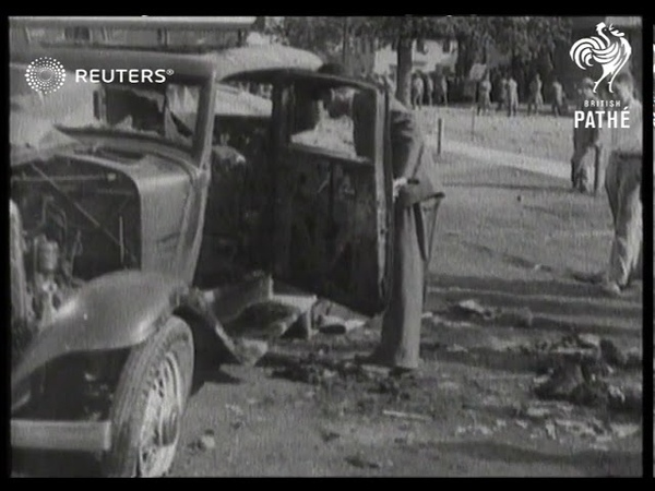 Strikes menace US Nation wide labour conflicts Three killed scores injured in Toledo ri 1934