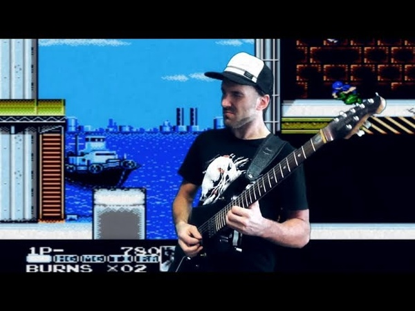 Contra Force NES OST metal cover Intro Stage 1 2 5 progmuz