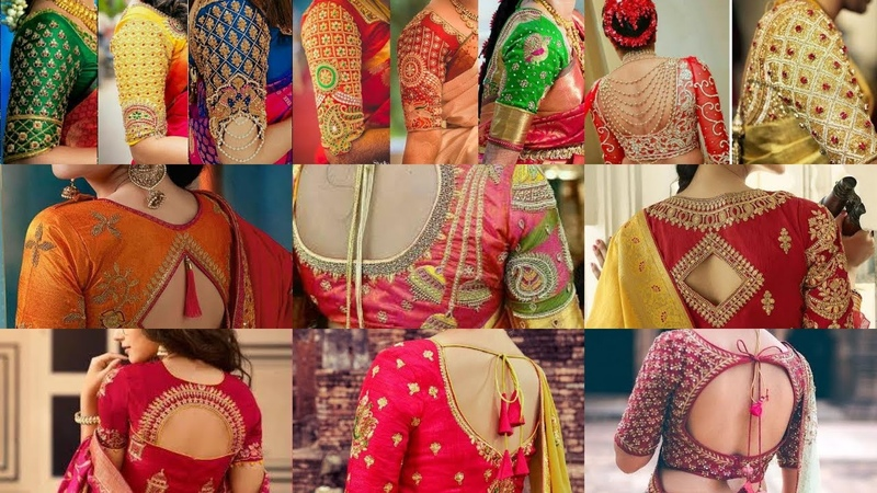New Latest South Indian Saree Blouse Designs | Latest Bridal Blouse Designs