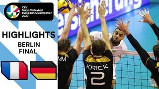 FINAL: Germany vs. France - Highlights | CEV Men's Tokyo Volleyball Qualification 2020