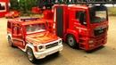 Мультики про машинки. Пожарные машинки тушат пожар на заводе