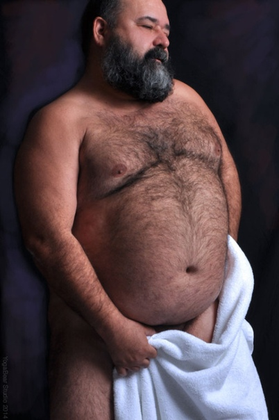Fat hairy black nude