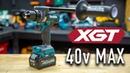 NEW Makita XGT 40v Brushless Hammer Driver Drill (HP001GZ)