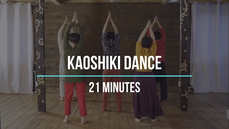 Kaoshiki dance from the back Slow pace Dance together for 21 minutes