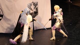 Sengoku Night Blood Toyotomi Hideyoshi and Uesugi Kenshin Cosplay
