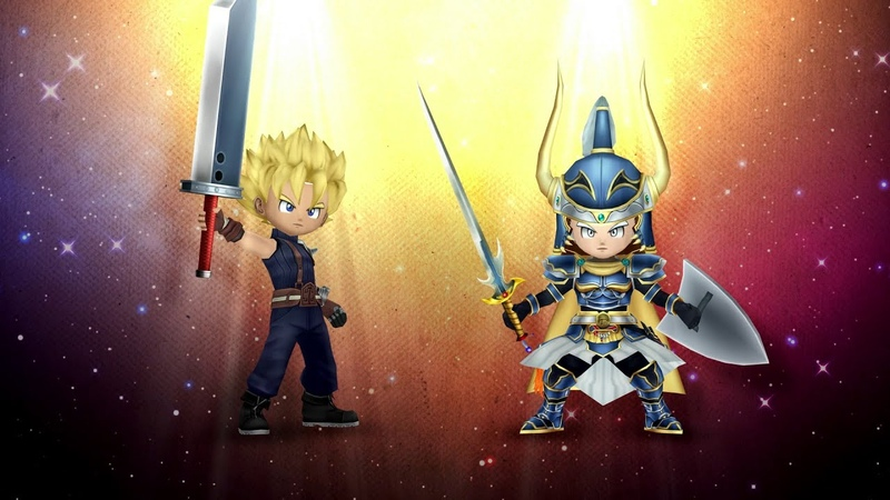 DRAGON QUEST OF THE STARS – Crossover with DISSIDIA FINAL FANTASY OPERA OMNIA