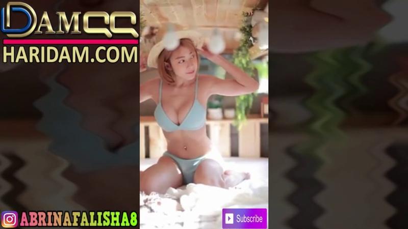 Model Sexy Chatkamon Sukkasem Liburan Ke Pantai Cup E 18