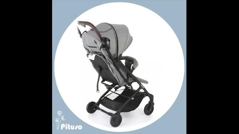 💥НОВИНОЧКА💥 лёгкая и компактная коляска от бренда PITUSO модель CAMINO новинка 2020 года⠀⠀В наличии цвета серый и чёрный ⠀⠀Х