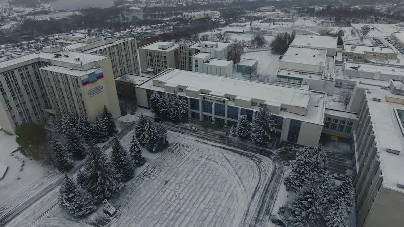 Первый снег 2020 года БГТУ им В Г Шухова