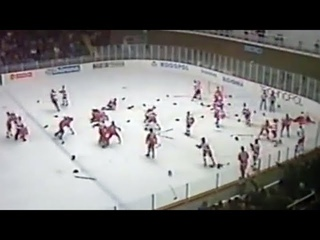 Brutal Team Fight CAN vs USSR with Don Cherry Analysis | 1987 World Junior Championship | Full Fight