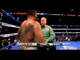 BERMANE STIVERNE vs CHRIS ARREOLA II KO 6 ROUND HIGHLIGHTS 5/10/2014