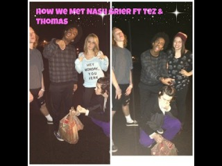 Braiding Hair: Ft Nash, Tez and a surprise appearance