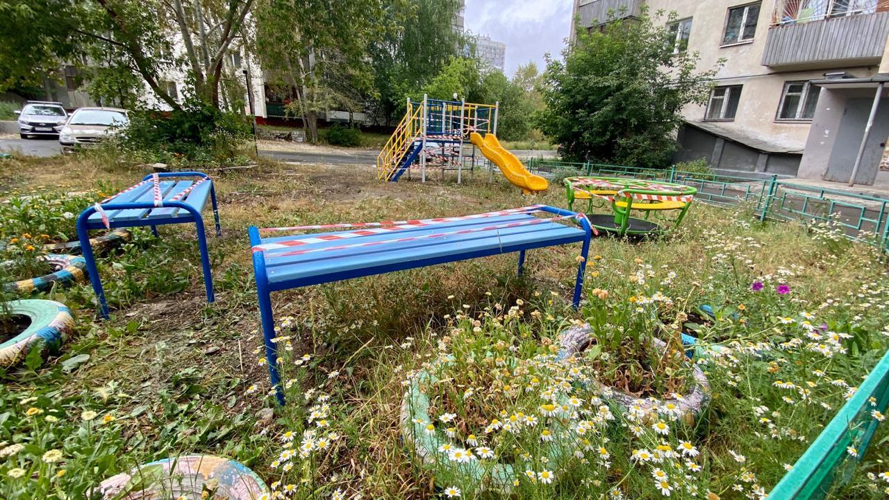 Новая детская площадка при моей поддержке появилась