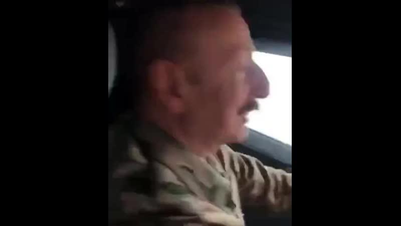 Президент Азербайджана Верховный главнокомандующий на освобождённых землях