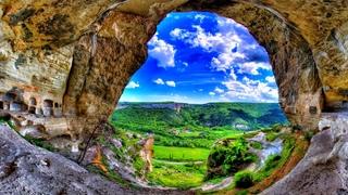 БАХЧИСАРАЙ - Место от которого мурашки по коже. ХАНСКИЙ ДВОРЕЦ. Пещерный город - ЧУФУТ КАЛЕ.