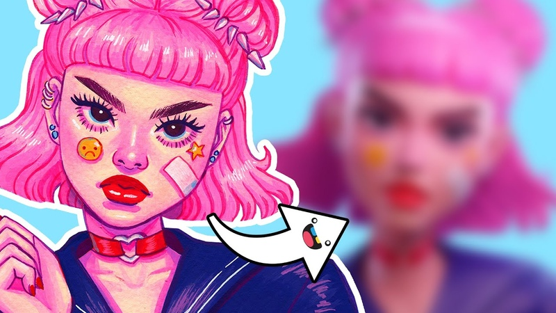 2D to 3D! Sculpting a Boss Girl from Start to Finish in ZBrush with imawonder ⚓ SUKEBAN ⚓