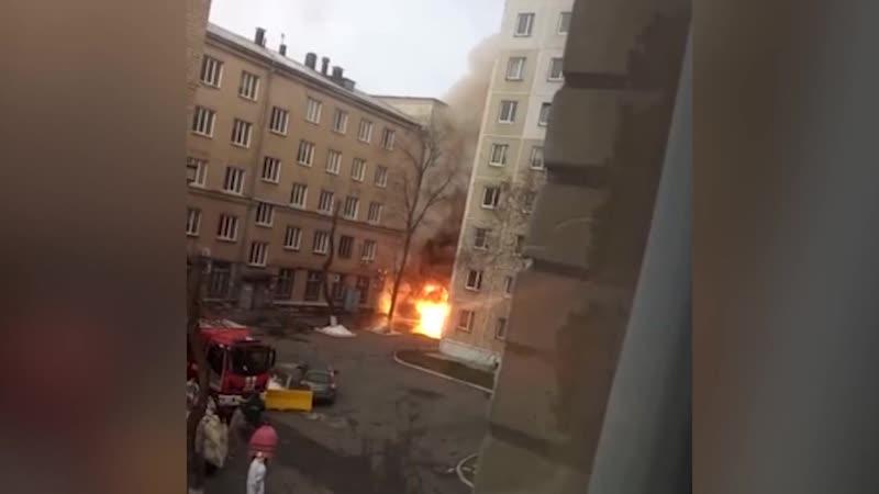 Взрыв в больничке