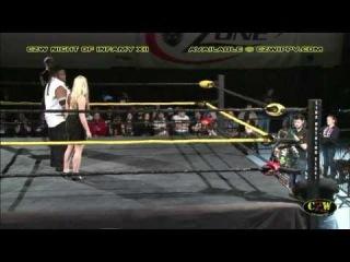 CZW Cage of Death XV - Dec. 14 -  - Christina Von Eerie vs. Kimber Lee