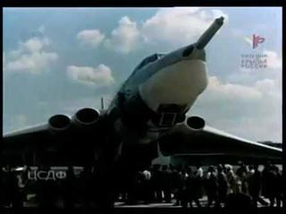 Авиапарад в Домодедово в 1967 году