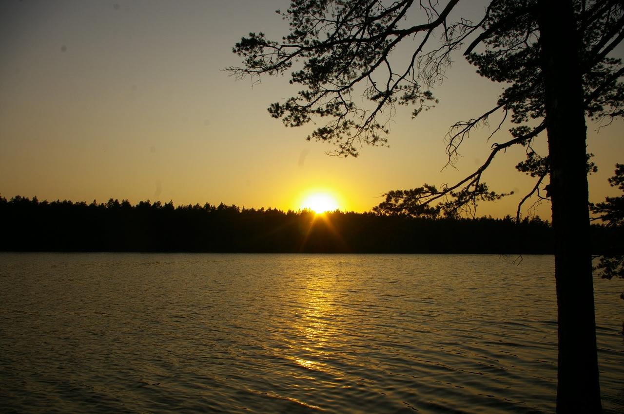 Последние дни сентября на Карельском перешейке. Осеннее лето на озерах Веселом и Невском.